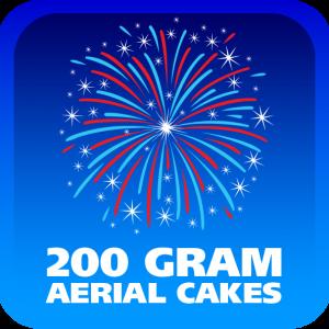 200 GRAM AERIAL CAKES